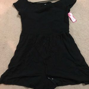Black Romper - Xhilaration